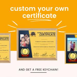 SuperMOM Breastfeeding Certificate